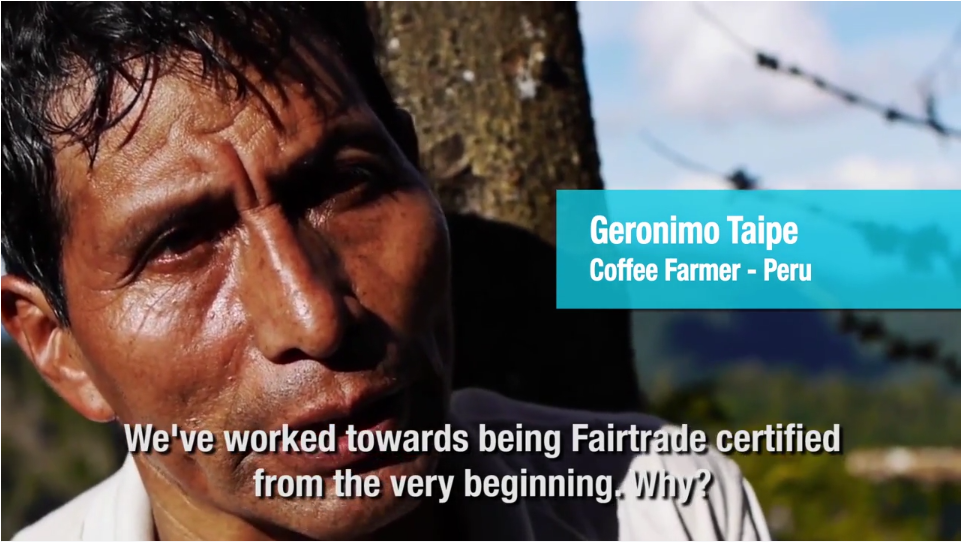 Photo from Fairtrade film
